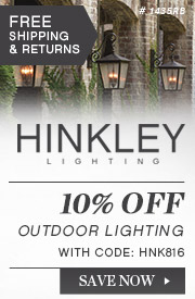 Hinkley Lighting | 10% Off Outdoor Lighting