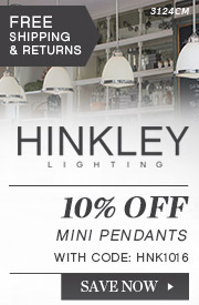 Hinkley | 10% Off Mini Pendants