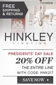 Hinkley | Presidents' Day Sale | 20% Off the Entire Line