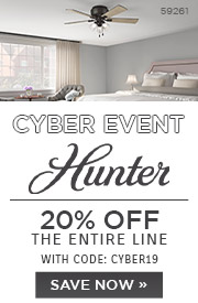 Cyber Event | Hunter | 20% Off the Entire Line | With Code: CYBER19 | Save Now