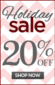 HOLIDAY SALE! 20% OFF The Entire Line!