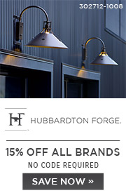 Hubbardton Forge | 15% OFF ALL Brands | no code required