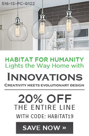 Habitat for Humanity Lights the Way Home with Innovations | 20% Off the Entire Line | With Code: HABITAT19 | Save Now