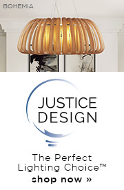 Justice Design | The Perfect Lighting Choice | Shop Now