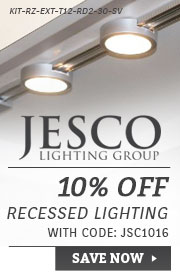 Jesco | 10% Off Recessed Lighting