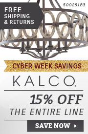 Kalco Lighting | 15% Off the Entire Line