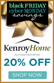 Kenroy Homes l 20% Off the Entire Line