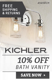 Kichler | 10% Off Bath Vanity