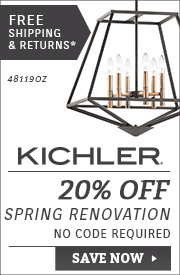 20% OFF Kichler Spring Renovation