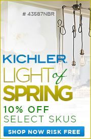 10% OFF Kichler Light of Spring!