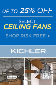 Kichler | Up to 25% Off Select Ceiling Fans