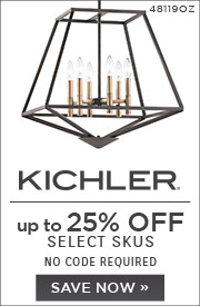 Kichler | Up To 25% OFF Select Skus