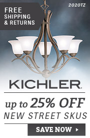 Kichler | Up To 25% Off New Street SKUs