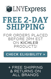 LNY Express | Free 2-Day Shipping for orders placed before 2pm est. on Kichler Products | Check Eligibility | + Free shipping & returns on all brands