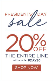 Presidents' Day Sale | 20% OFF The Entire Line