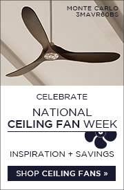 Celebrate Ceiling Fan Week | Inspiration & Savings | Shop Ceiling Fans