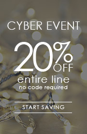 Cyber Event | 25% OFF Entire Line | no code required
