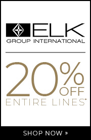 ELK Group International | 20% OFF Entire Lines | Shop Now