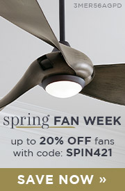 Spring Fan Week | Save Up To 20% OFF fans with code: SPIN421 | Save Now