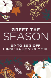 Greet The Season | Up to 80% Off + Inspirations & More