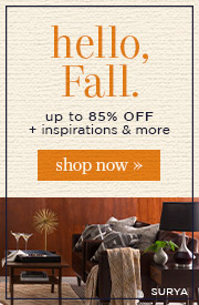 Hello Fall | up to 85% Off + Inspirations & More | Shop Now