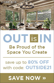 Out is In | Be Proud of the Space You Create | Save up to 80% Off Lighting & Decor with code: OUTSIDE21 | Save Now