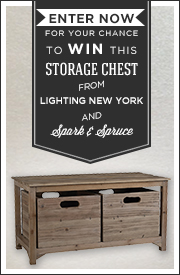 Rustic Storage Chest Giveaway