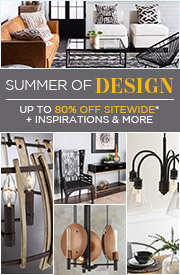 Summer of Design | Up To 80% OFF Sitewide* + Inspirations & More