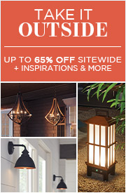 Take It Outside | Up To 65% Off Sitewide + Inspirations & More