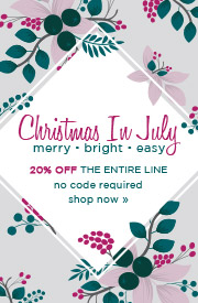 Christmas In July | 20% OFF The Entire Line | No Code Required
