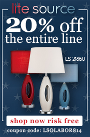 20% off the ENTIRE LITE SOURCE line!