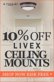 10% off LIVEX Ceiling Mounts!