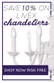 Save 10% on CHANDELIERS by Livex!