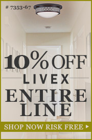Livex Lighting | 10% off The ENTIRE Line!