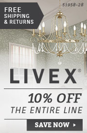 Livex | 10% Off the Entire Line