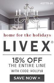 Home for the Holidays | Livex | 15% OFF The Entire Line | with code: HOLLY18