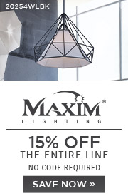 Maxim Lighting | 15% OFF The Entire Line | No Code Required | Save Now