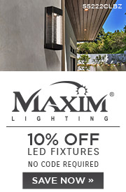 Maxim Lighting | 10% Off LED Fixtures | No code required | Save Now