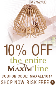 10% OFF the ENTIRE MAXIM line!