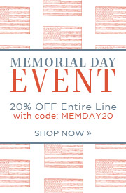 Memorial Day Event | 20% OFF Entire Line