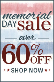Shop the Memorial Day Sale & Save Over 60%!