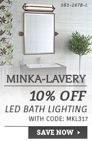Minka-Lavery | 10% Off LED Bath Lighting