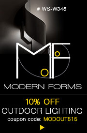 10% OFF MODERN FORMS OUTDOOR!