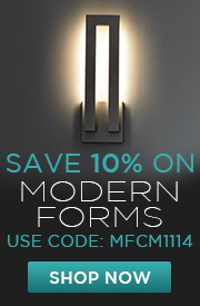 Save 10% on MODERN FORMS!