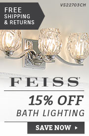 Feiss | 15% Off Bath Lighting