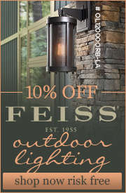 10% Off FEISS Outdoor Lighting!