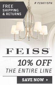 Feiss Lighting | 10% Off the Entire Line