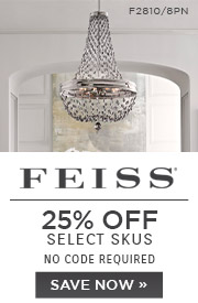 Feiss | 25% OFF Select Skus | no code required