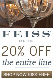 Feiss l 20% off the Entire Line
