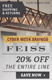 Feiss | 20% Off Entire Line